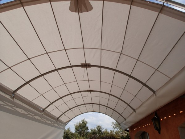 terrace sun cover : house's sun cover